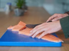 Visscher Seafood kweekt 'all natural zalm'