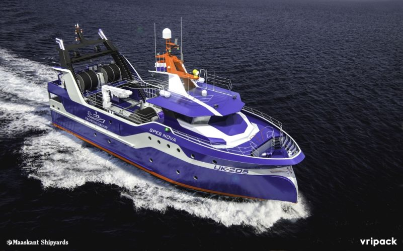 UK 205 Spes Nova - Foto Maaskant Shipyards